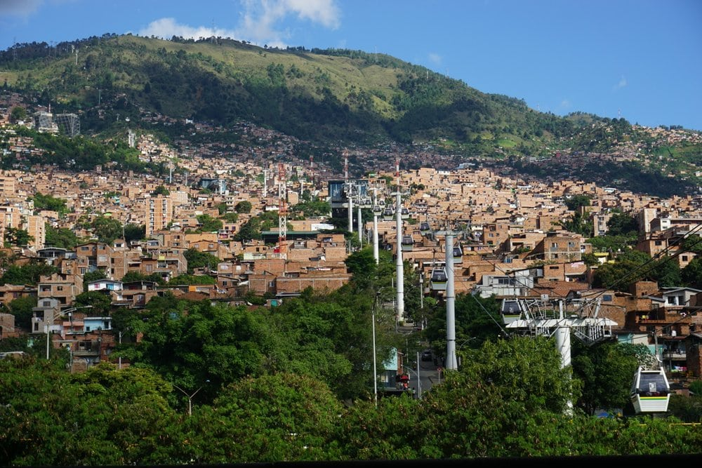 Medellin is one of the most popular destinations for digital nomads