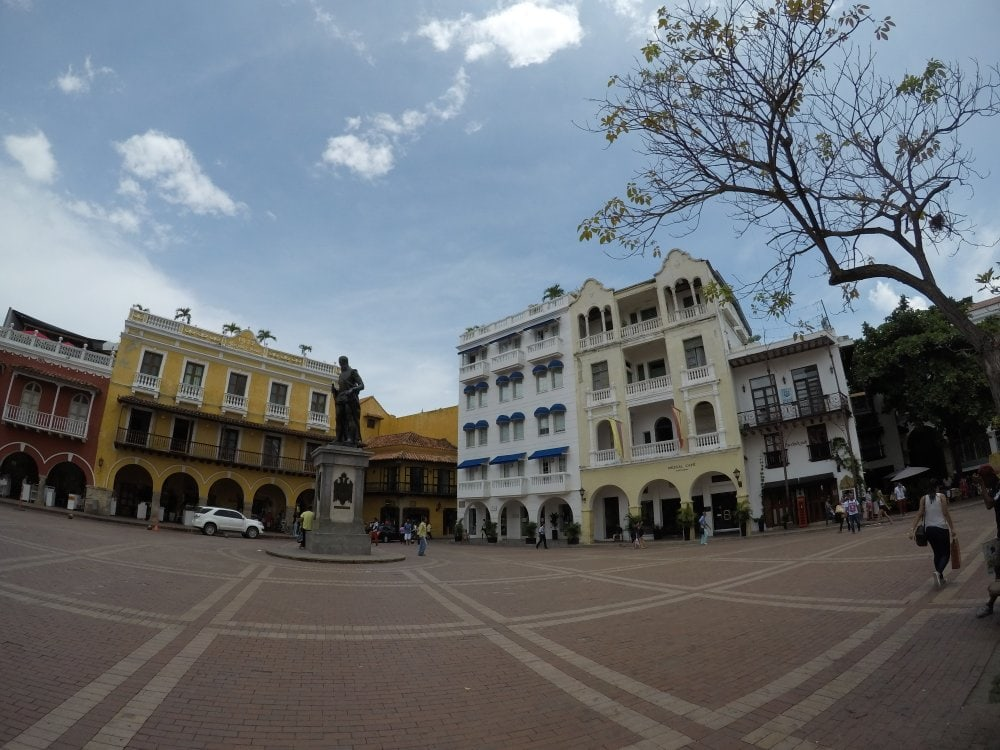 The Old Town of Cartagena is a UNESCO World Heritage Site.