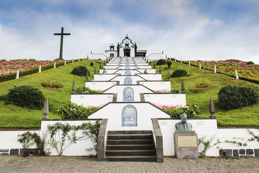 church in sao miguel azores