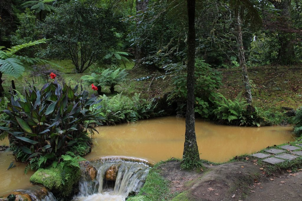 azores hot springs sao miguel