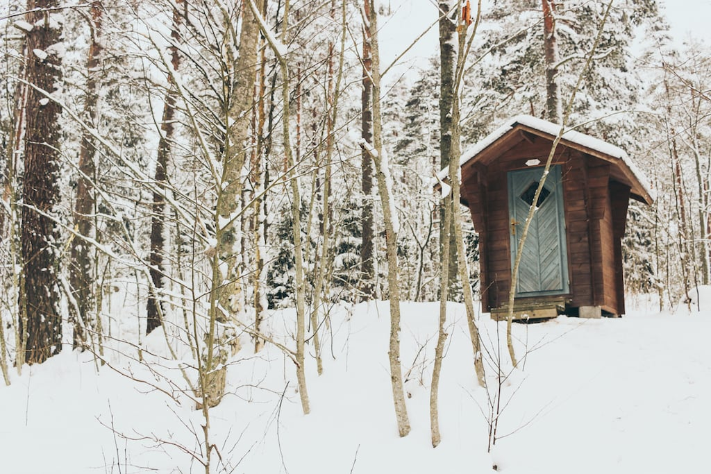Nuuksio National Park: The Most Beautiful Winter Day Trip From Helsinki in forest