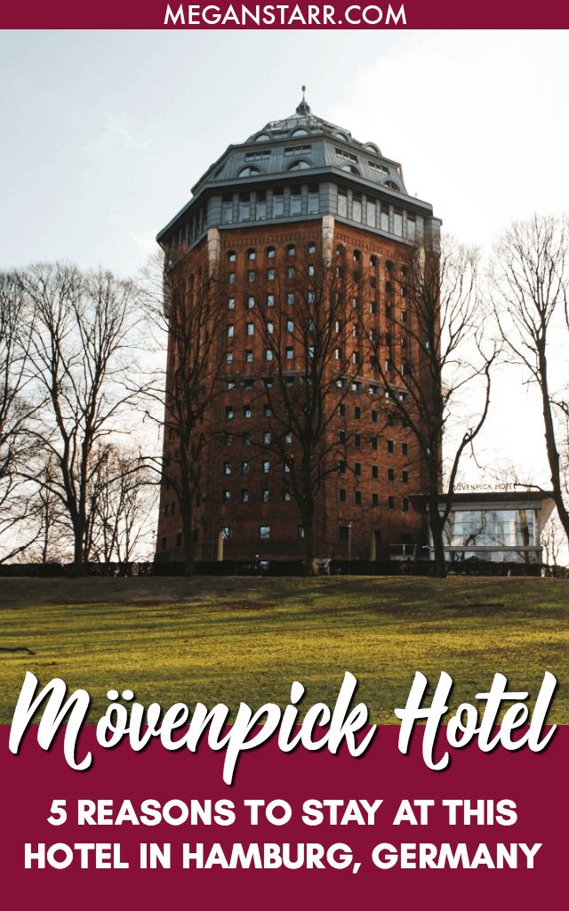 The Mövenpick Hotel in Hamburg is one of the most unique places I have ever stayed throughout my travels. This converted city water tower offers stellar views, a breakfast to die for, and rooms that exude coziness and comfort.  Click to read five reasons to love the Mövenpick Hotel in Hamburg!