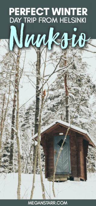 Nuuksio National Park: The Most Beautiful Winter Day Trip From Helsinki #winter #finland #nature #nationalpark