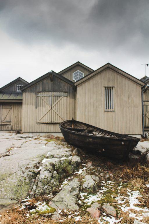 KÄRINGSUND, ÅLAND ISLANDS: AN UNSPOILED FISHING HARBOR ON ECKERÖ and boat