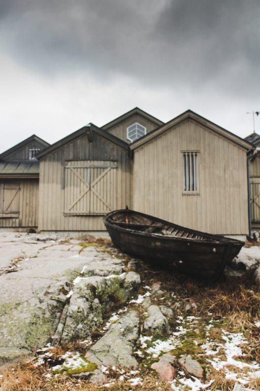 KÄRINGSUND, ÅLAND ISLANDS: AN UNSPOILED FISHING HARBOR ON ECKERÖ and boat