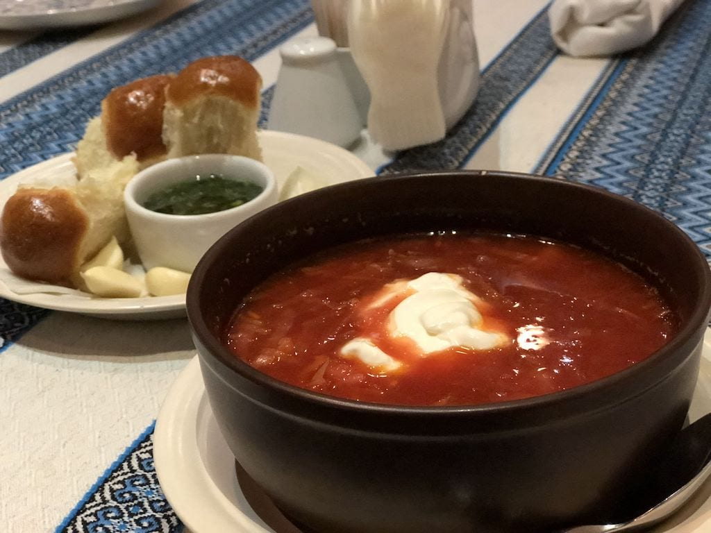 borscht zaporizhia ukraine