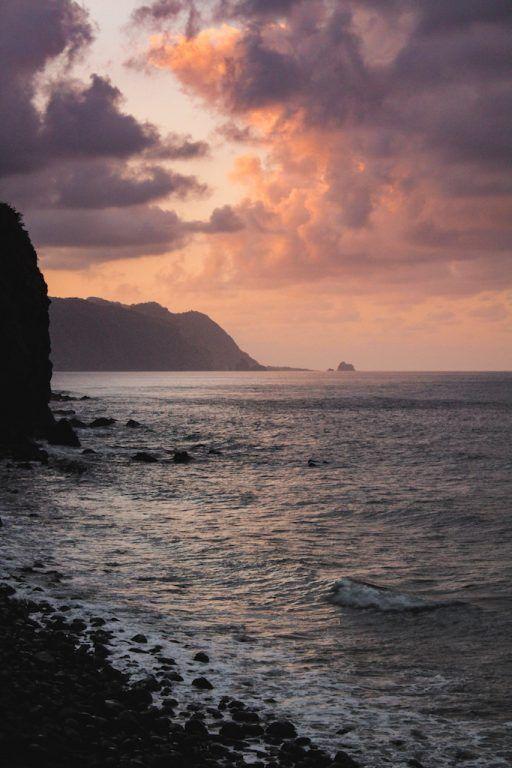 Madeira Hidden Gems: A Complete Travel Guide to Sao Vicente, Madeira sunset