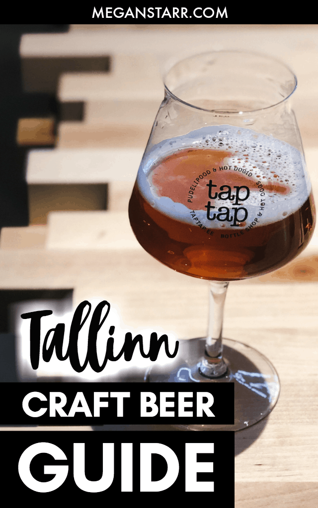 Travelers to Estonia quickly realize that it is pretty easy to find and drink craft beer in Tallinn. The Estonian beer scene in Tallinn is thriving and there are craft beer bars in various parts of the city that cater to all types of beer drinkers. This is a guide to where to drink craft beer in Tallinn, Estonia. #tallinn #estonia #beer #baltics #craftbeer #pohjala #beerlovers #europe #europeanbeer #goodbeer