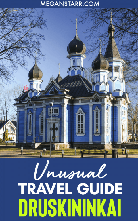 Druskininkai, Lithuania Travel Guide: Unusual Things to Do in a Lithuania Spa Town : This is a guide to things to do in Druskininkai outside of the usual spas, aqua park, cable cars, and snow arena. The guide includes hotel, restaurant, and practical information. #lithuania #baltics #travelguide #druskininkai #spatown