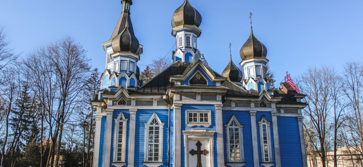 Druskininkai, Lithuania Travel Guide: Unusual Things to Do in a Lithuania Spa Town blue church