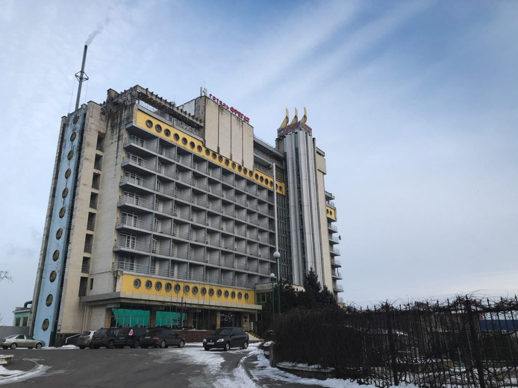 Kherson, Ukraine: I'll Take French Fries With a Side Order of Corruption, Please hotel fregat