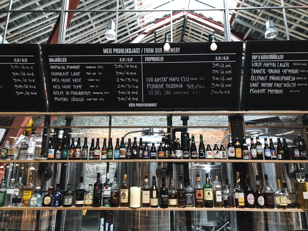 Craft Beer in Tallinn: Where to Drink Estonian Beer in the