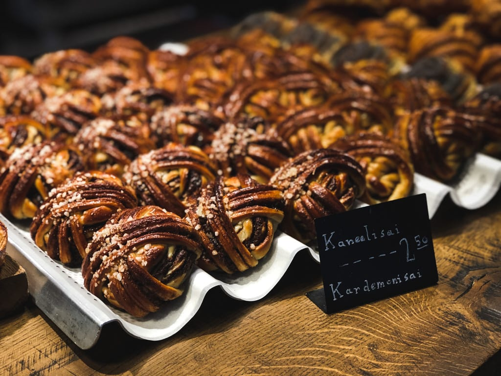 Tallinn Cafes: Where to Find The Best Coffee in Tallinn, Estonia Røst Scandinavia Bakery cinnamon bun