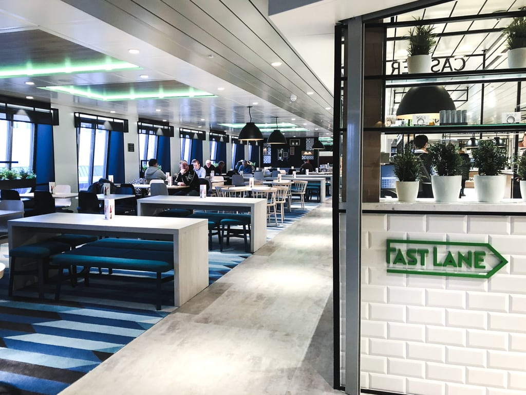 Tallinn to Helsinki Ferry: Cruising Across the Baltic Sea with Tallink Megastar bar on ship