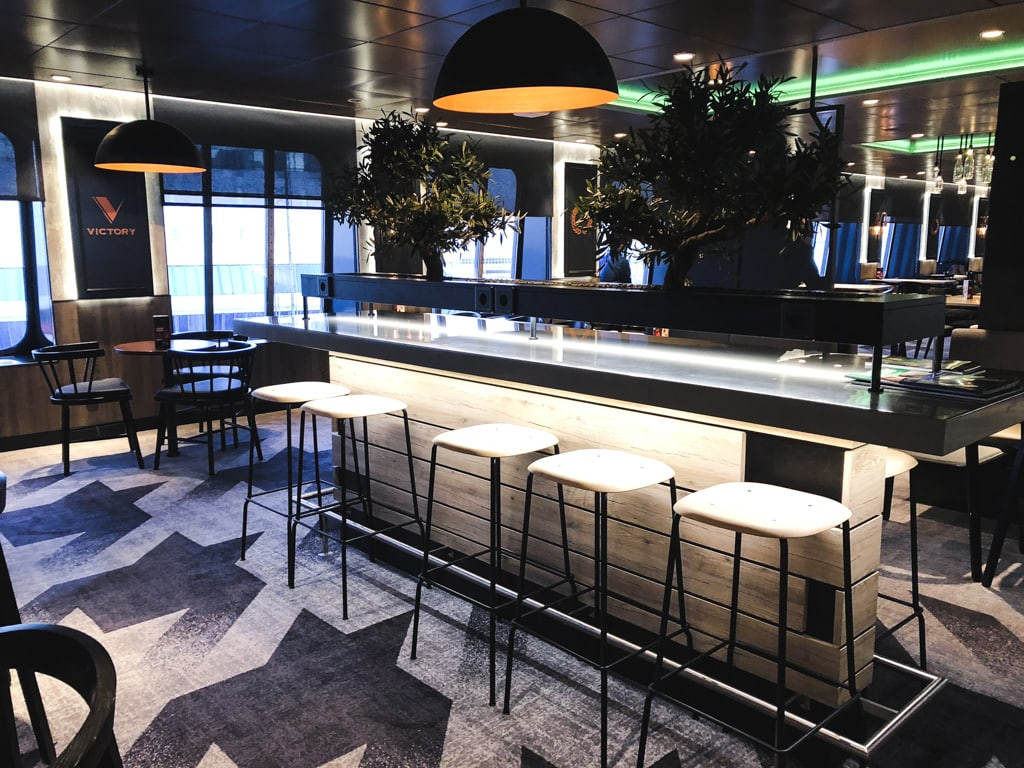 Tallinn to Helsinki Ferry: Cruising Across the Baltic Sea with Tallink Megastar bar