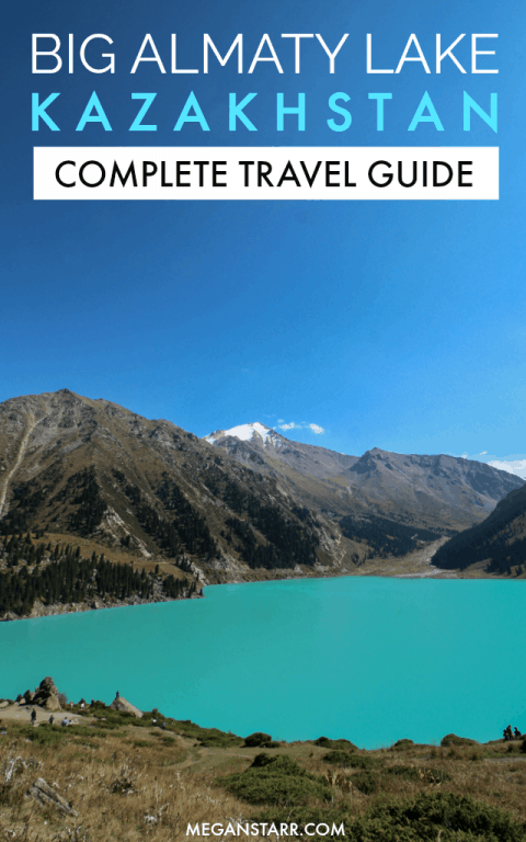 Big Almaty Lake: A Complete Travel Guide to the Most Famous Lake in Kazakhstan #bigalmatylake #almaty #kazakhstan #lake #mountains #centralasia #travelguide #nature