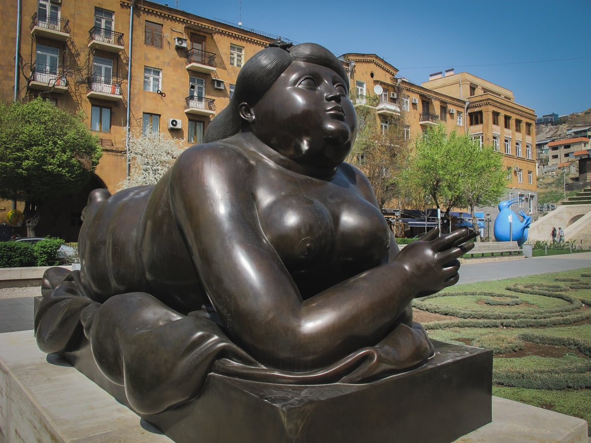 botero statue cascades Things to Do in Yerevan, Armenia