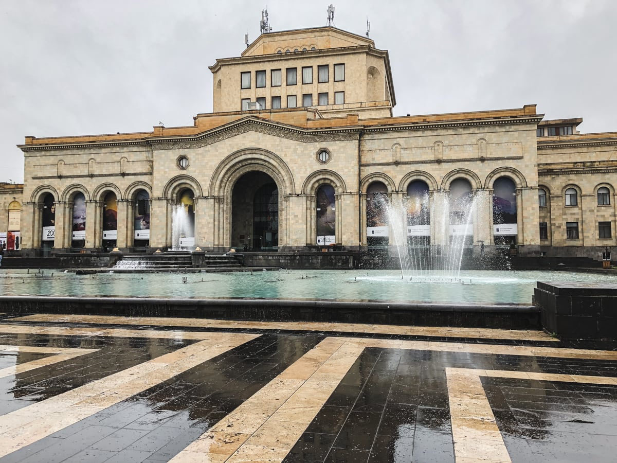 armenia history museum republic square Things to Do in Yerevan, Armenia