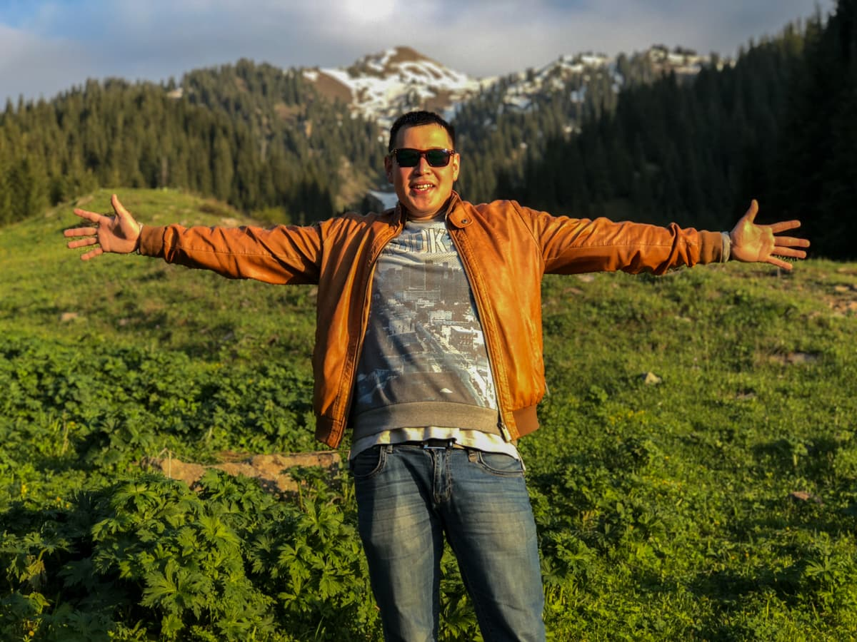 Hiking to Butakovskiy Waterfall in Almaty: Kazakhstan Nature at its Finest