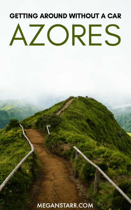 Best Azores Tours: How to Visit Sao Miguel, Azores Without a Car #azores #portugal #tours #tour #saomiguel #islands #europe #naturelovers