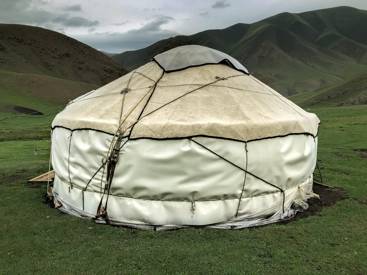 Central Asia Travel Tips: 50 Things to Know and Do Before You Visit yurt in kyrgyzstan