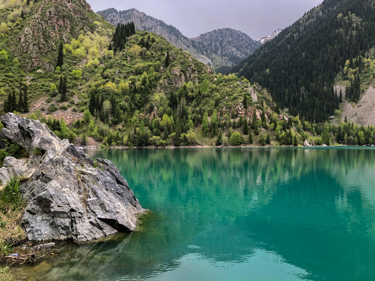 Central Asia Travel Tips: 50 Things to Know and Do Before You Visit issyk lake in kazakhstan