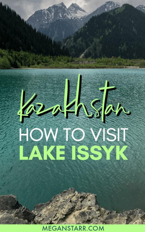 Lake Issyk, Kazakhstan: A Turquoise Slice of Paradise Pleasure Near Almaty #kazakhstan #almaty #nature #issyk #lakeissyk #centralasia #lake #mountain