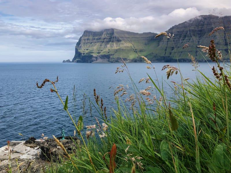 Mikladalur village in the Faroe Islands on Kalsoy: best Faroe Islands day tours