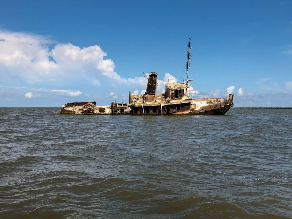 10 Things to Do in the Danube Delta, Romania - Europe's Best-Kept Secret Shipwreck in the Black Sea on the way to Sacalin Island
