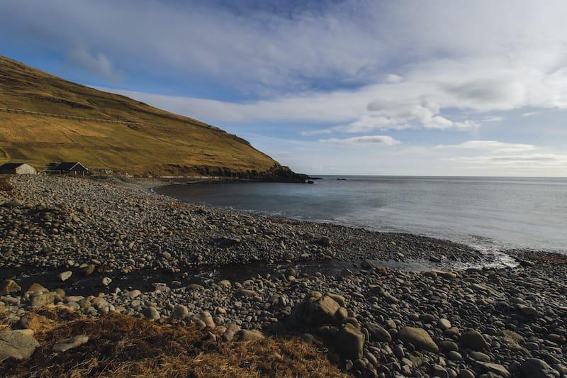 Sandoy island in the Faroes