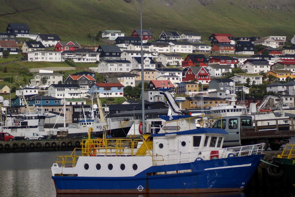 Klaksvik on Bordoy in Faroe Islands Harbor - Visit Faroe Islands: A Guide to the Best Views and Photography Spots