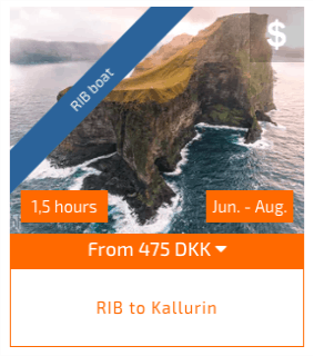 RIB to kallurin kalsoy tour