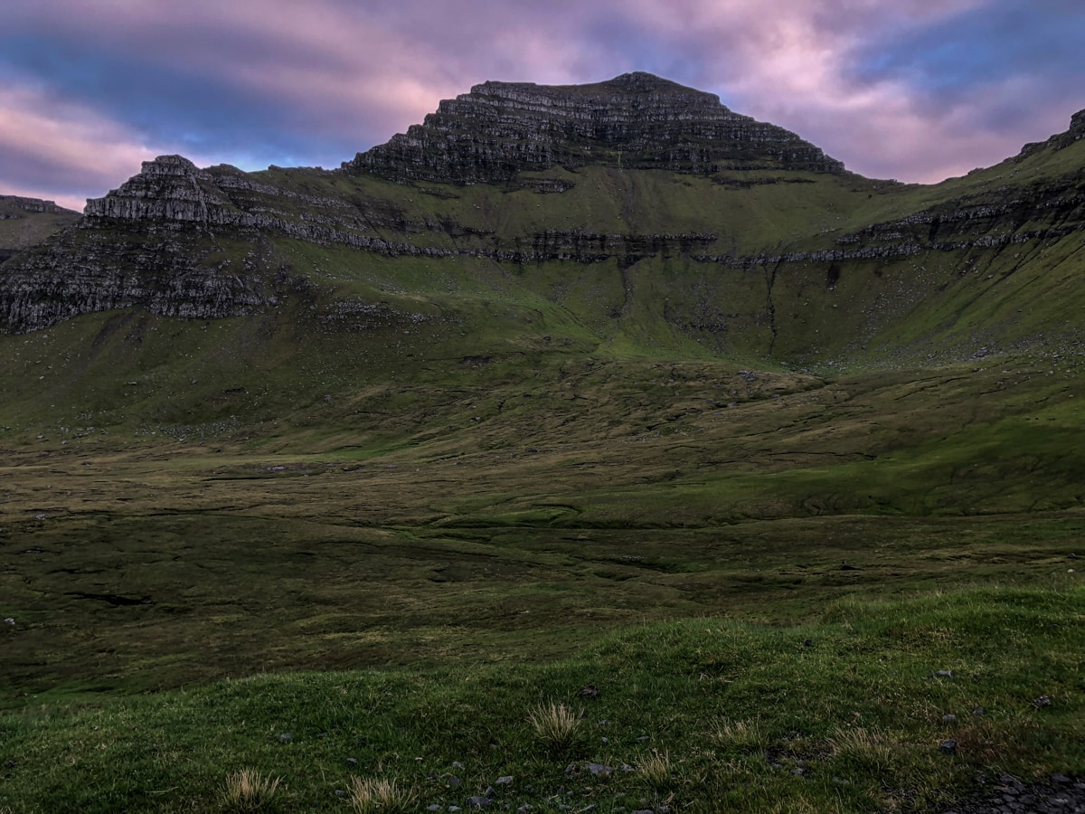 Slættaratindur views at dusk - Visit Faroe Islands: A Guide to the Best Views and Photography Spots