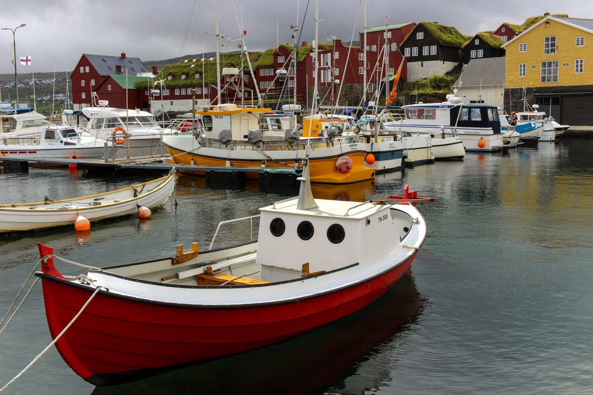 Visit Faroe Islands: A Guide to the Best Views and Photography Spots Torshavn on Streymoy harbor