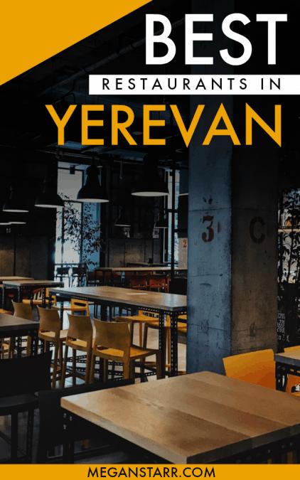 Best Restaurants in Yerevan, Armenia - A Local's Guide #armenia #yerevan #restaurants #locals #caucasus #armenianfood
