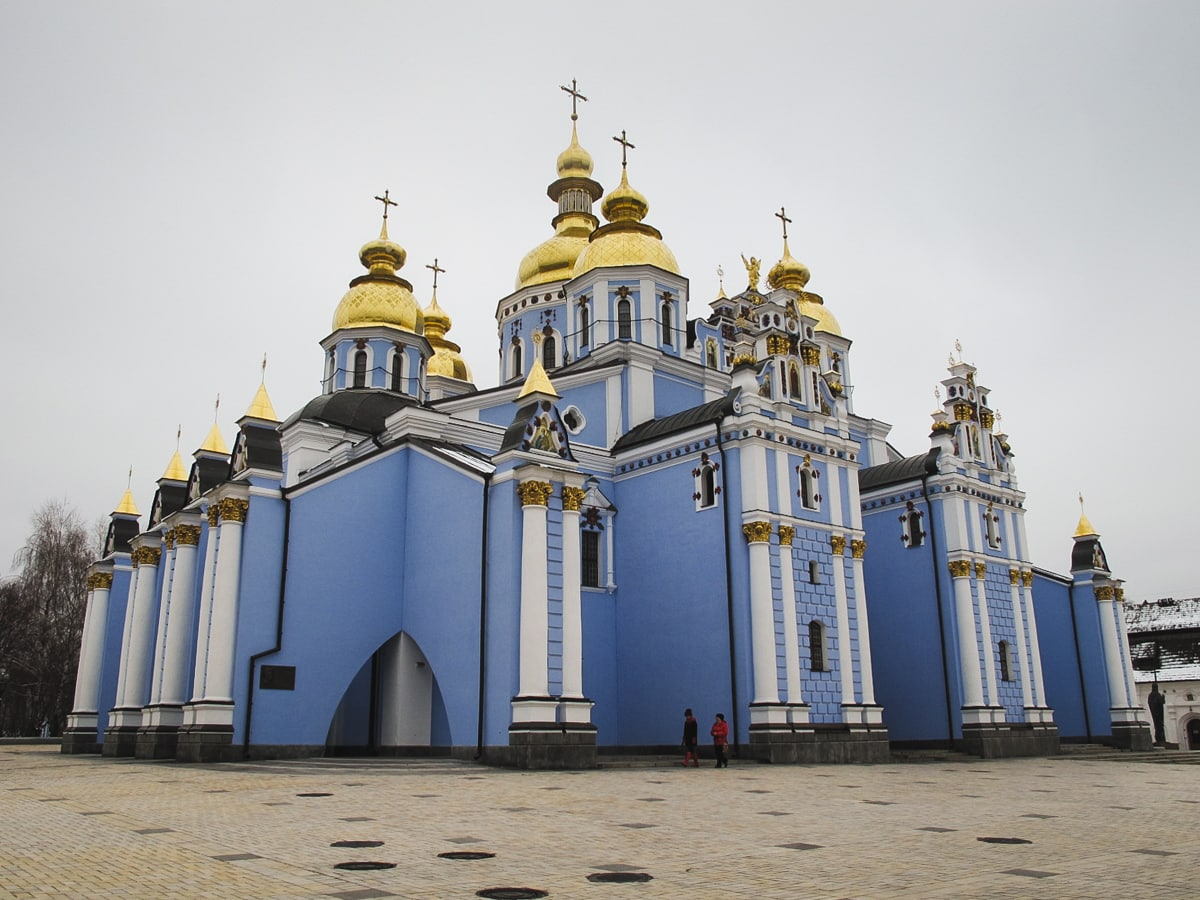 2 Weeks in Ukraine Itinerary: A Detailed Guide For First-Time Visitors st michaels church in kiev