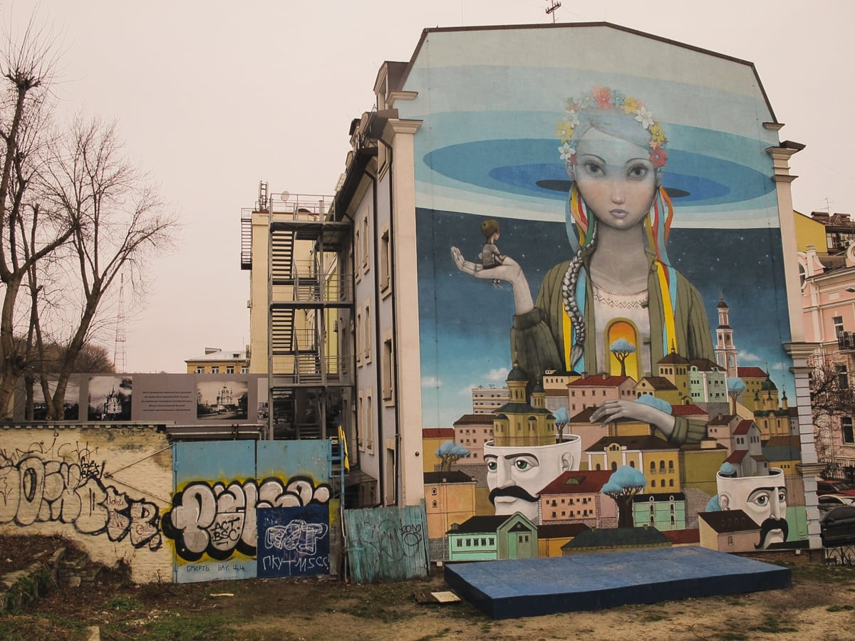 2 Weeks in Ukraine Itinerary: A Detailed Guide For First-Time Visitors kiev ukraine street art