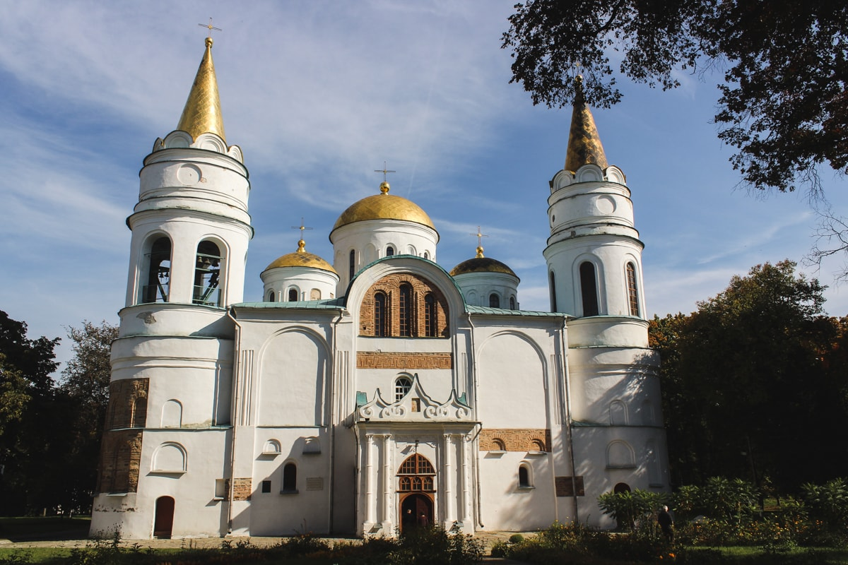 2 Weeks in Ukraine Itinerary: A Detailed Guide For First-Time Visitors Chernihiv, Ukraine Cathedral