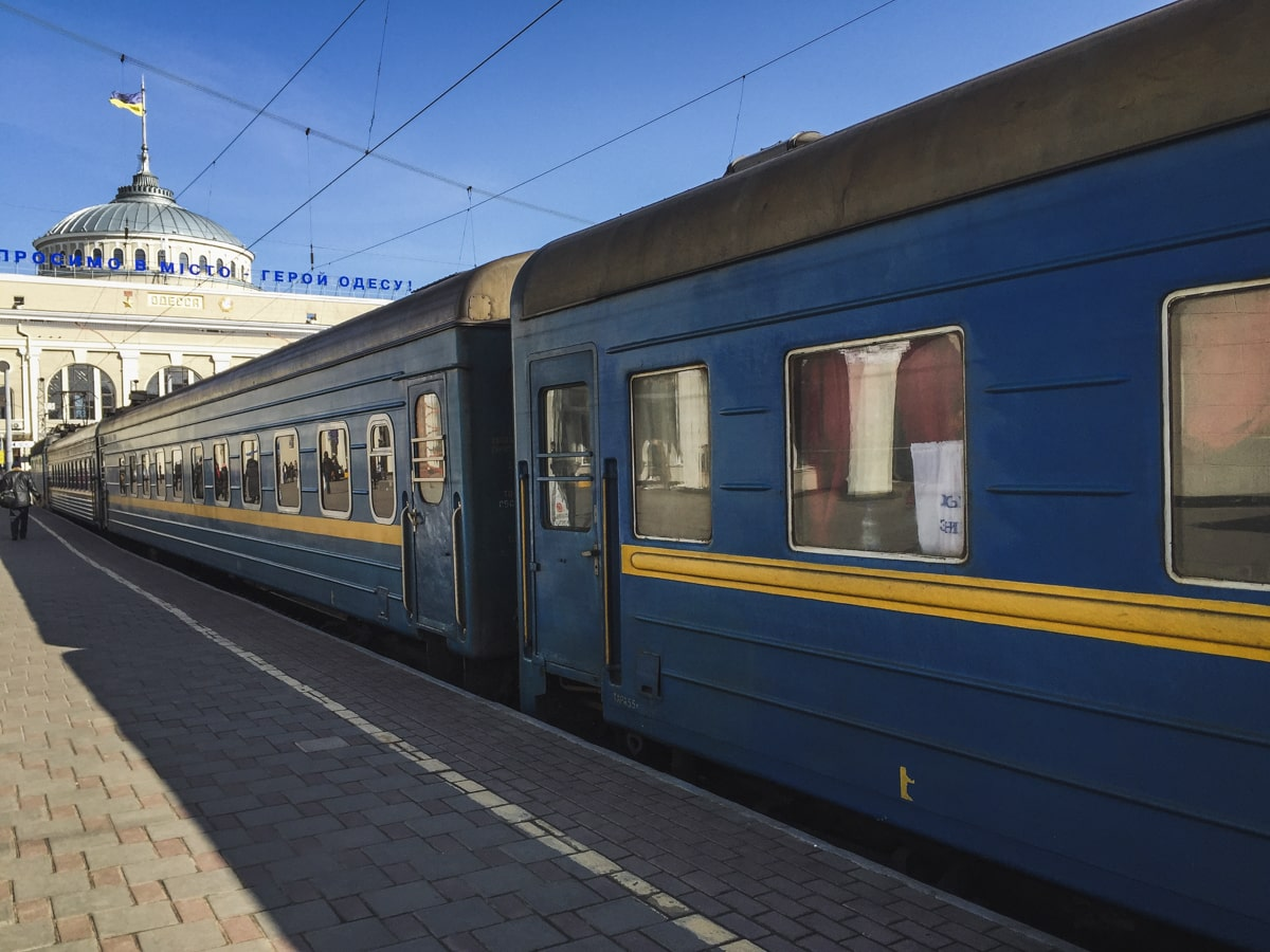 2 Weeks in Ukraine Itinerary: A Detailed Guide For First-Time Visitors Ukraine train