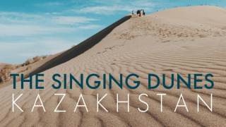 Visiting the Singing Dunes at Altyn Emel National Park in Kazakhstan