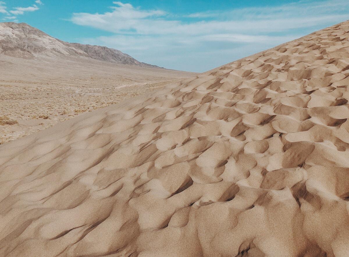 Singing Dunes Altyn Emel National Park Kazakhstan sand
