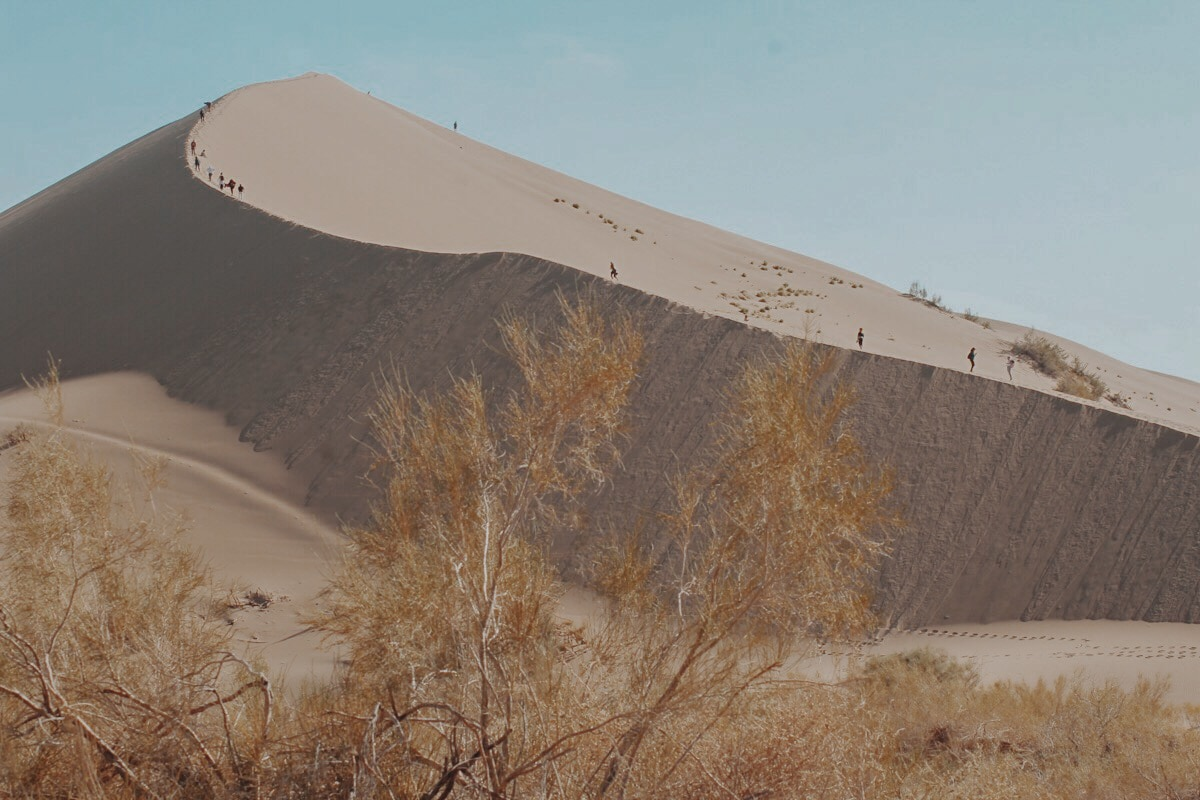 Singing Dunes Altyn Emel National Park Kazakhstan