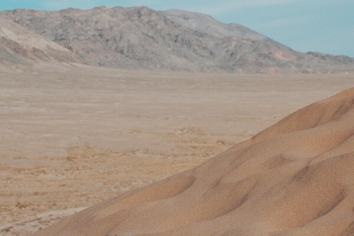 Singing Dunes Altyn Emel National Park Kazakhstan sand landscape