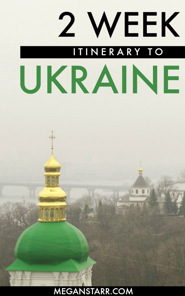 2 Weeks in Ukraine Itinerary: A Detailed Guide For First-Time Visitors #ukraine #kharkiv #kiev #odessa #lviv #easterneurope #chernivtsi #chernihiv #chernobyl #pripyat