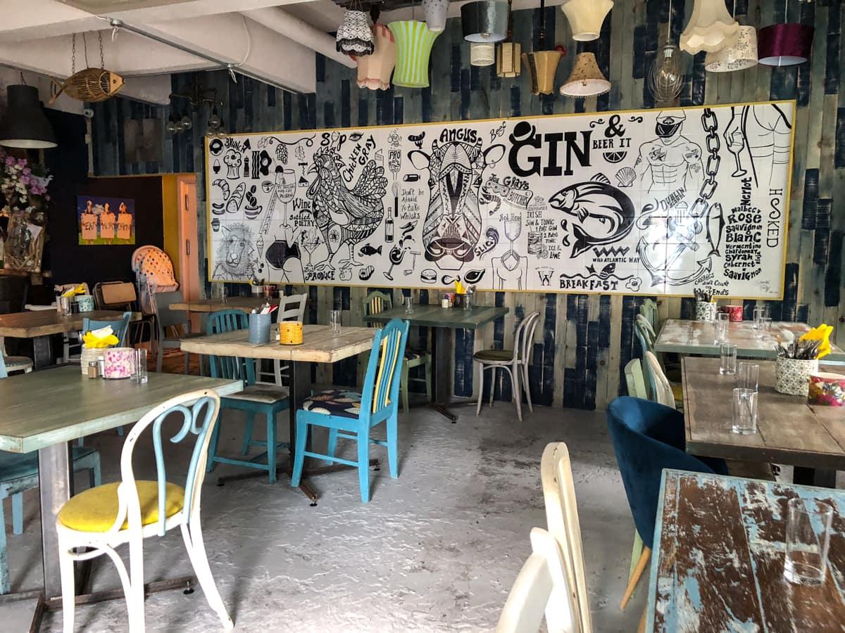 Hooked eatery and restaurant in Sligo