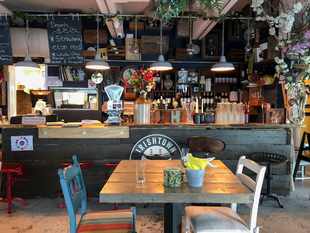 Hooked restaurant in Sligo Ireland