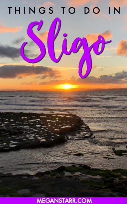 Sligo, Ireland is one of the most underrated places I have ever been. This is a post showcasing the many things to do in Sligo (for all travelers!) #sligo #ireland #visitireland #westireland #travel #europe #golf #golfcourses