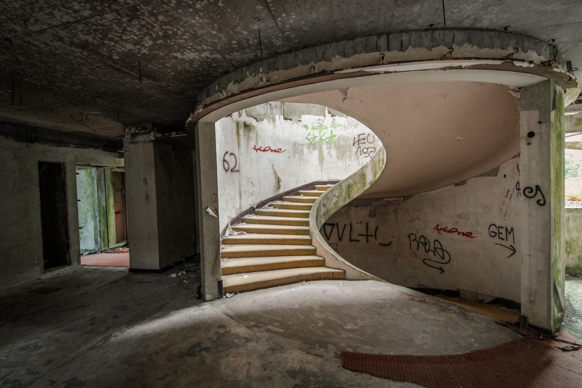 abandoned hotel in the azores on sao miguel