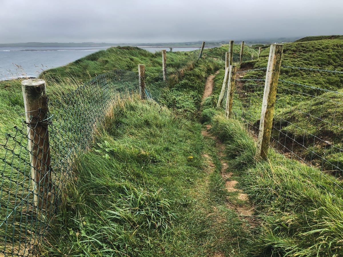 aughris ireland sligo county walk on coast