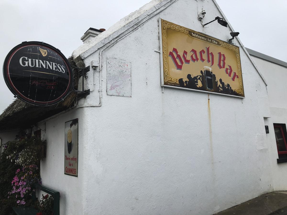 beach bar in aughris sligo ireland